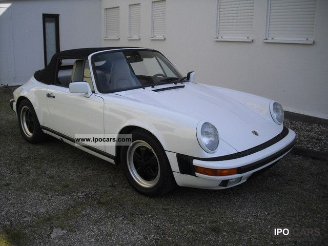 1988 Porsche  911 Cabriolet 3.2 * Kat * ex checkbook Hawaii Cabrio / roadster Used vehicle photo