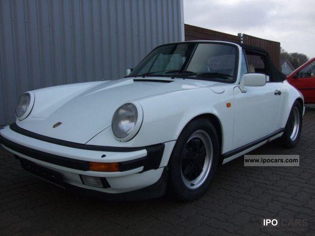 1983 Porsche  911 Cabrio 3.2 PT Scheckh. 25years in 3 hands Cabrio / roadster Used vehicle photo