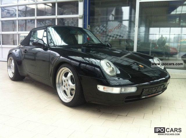 1997 Porsche  911 993 Carrera 2 Convertible, Ez 1997 Sports car/Coupe Used vehicle photo