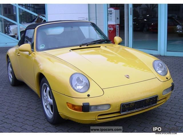 1997 Porsche  911 993 Cabriolet Tiptronic Cabrio / roadster Used vehicle photo