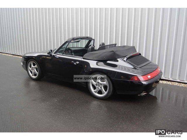 1997 porsche 993 c2 cabriolet black black car photo and specs. Black Bedroom Furniture Sets. Home Design Ideas
