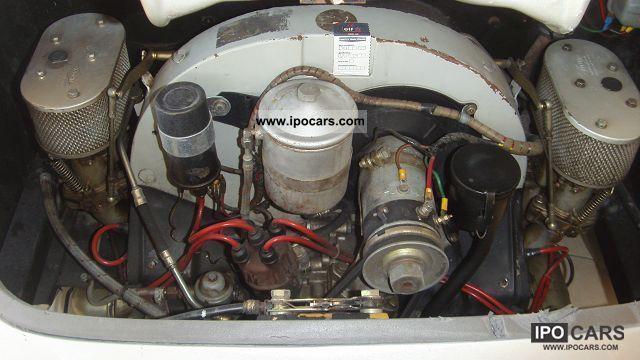 1993 Porsche 356 Speedster Replica Pgo Porsche Engine