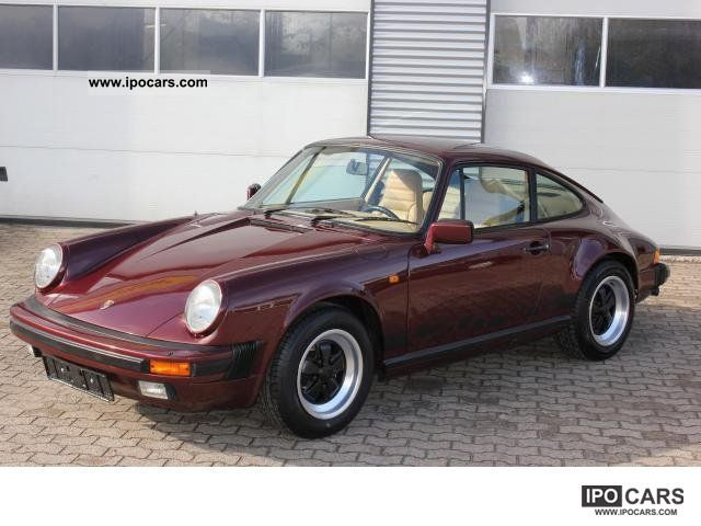 1983 Porsche  911 Carrera 3.2 87tkm, 2.Hand, Full Service History Sports car/Coupe Used vehicle photo