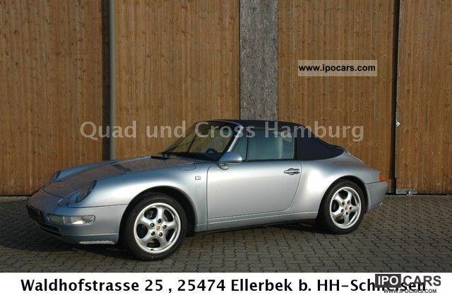 1996 Porsche  911 Carrera Cabriolet Cabrio / roadster Used vehicle photo