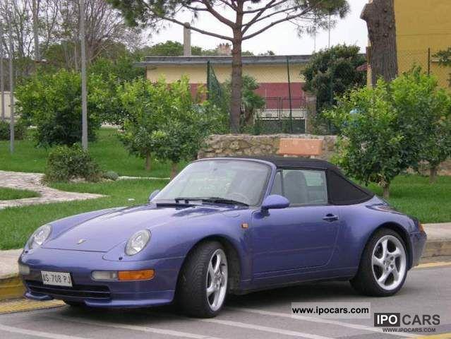 1997 porsche 993 cabrio car photo and specs. Black Bedroom Furniture Sets. Home Design Ideas