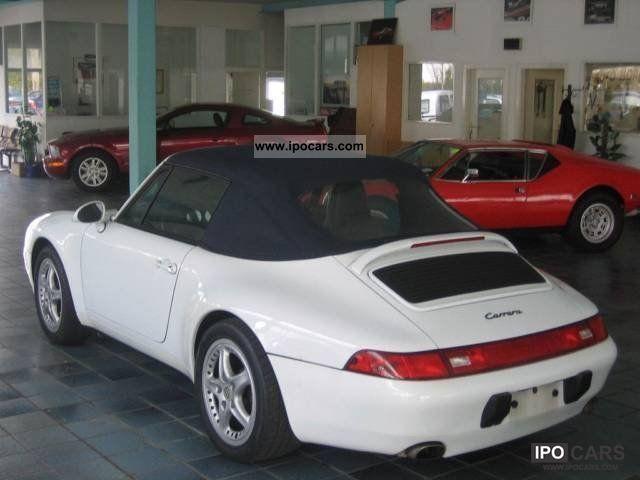 1997 porsche 993 carrera cabrio car photo and specs. Black Bedroom Furniture Sets. Home Design Ideas