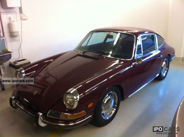 Porsche  911 SWB Coupe-2.2-stainless-top states! 1967 Vintage, Classic and Old Cars photo