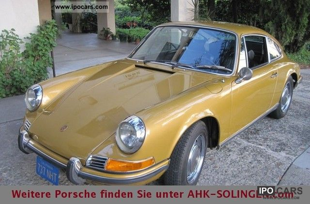 1971 Porsche  911 2,2 T from 2nd hand Sports car/Coupe Classic Vehicle photo