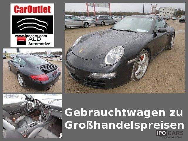 2008 Porsche  911 Carrera 4 S Sports car/Coupe Used vehicle photo