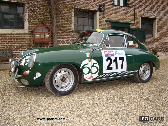 Porsche  356 C - Rally car 1965 Vintage, Classic and Old Cars photo