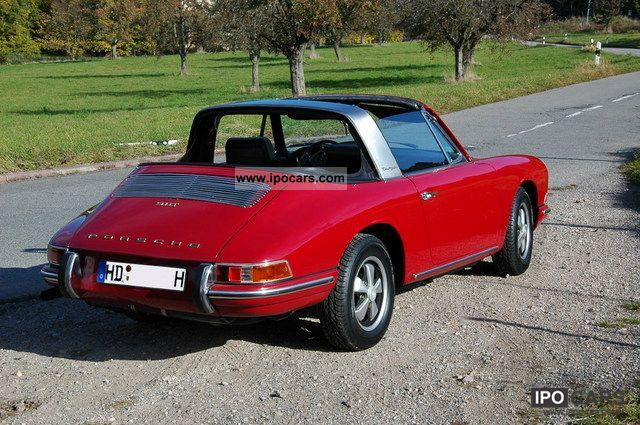 Porsche  Soft Window Targa 1968 Vintage, Classic and Old Cars photo