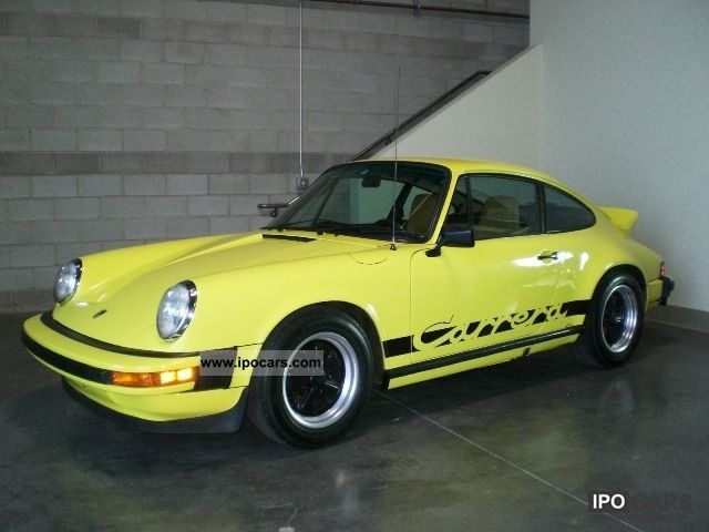 Porsche  CARRERA 2.7 1973 Vintage, Classic and Old Cars photo