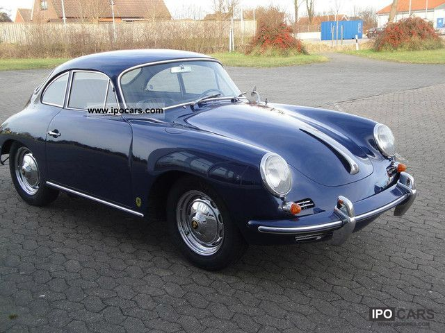 1963 porsche 356 b coupe car photo and specs. Black Bedroom Furniture Sets. Home Design Ideas
