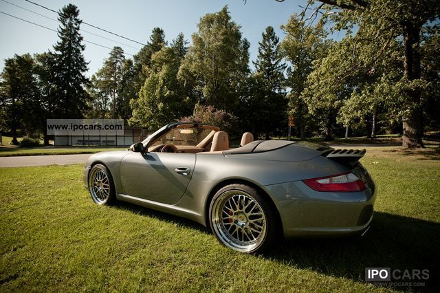 2005 Porsche  20 inch rims Cargraphic. Exchange / barter Cabrio / roadster Used vehicle photo