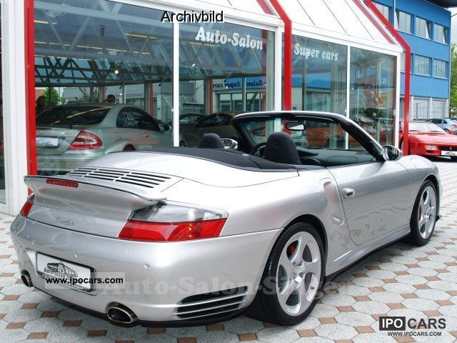 2006 porsche 996 turbo cabriolet car photo and specs. Black Bedroom Furniture Sets. Home Design Ideas