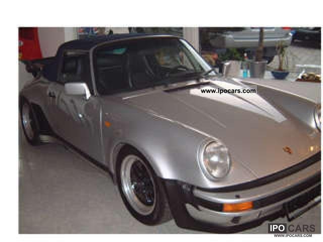 1988 Porsche  73 000 turbo convertible original KM Cabrio / roadster Used vehicle photo