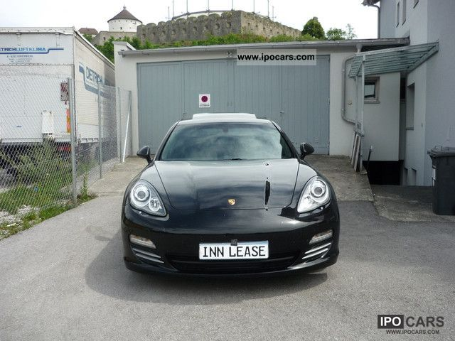 2012 Porsche  New Panamera diesel Schiebed Xenon PDC immediately Limousine Used vehicle photo