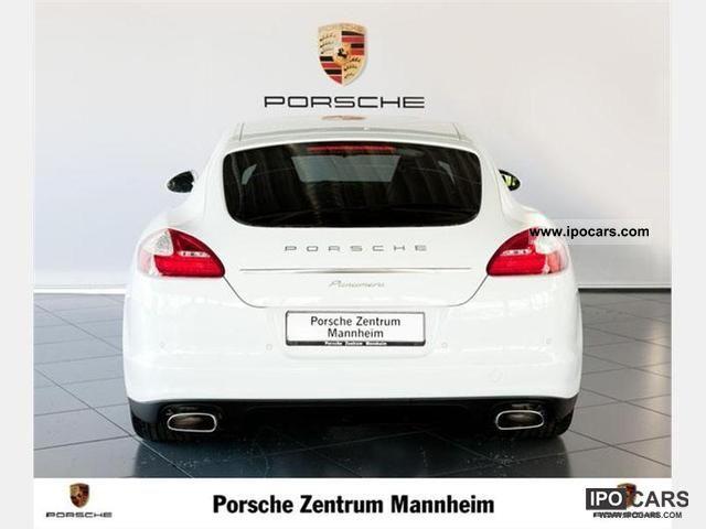 2012 Porsche  Panamera / PDK / sunroof / Anhängezugvorrich Limousine Demonstration Vehicle photo