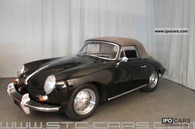 Porsche  356 W 1600 S Convertible Orig.m. Certificate 1963 Vintage, Classic and Old Cars photo