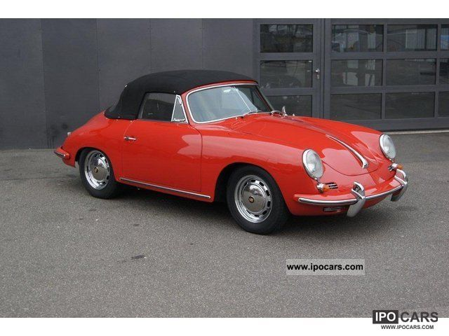 1965 Porsche  356 C Convertible - Numbers Matching Cabrio / roadster Used vehicle photo
