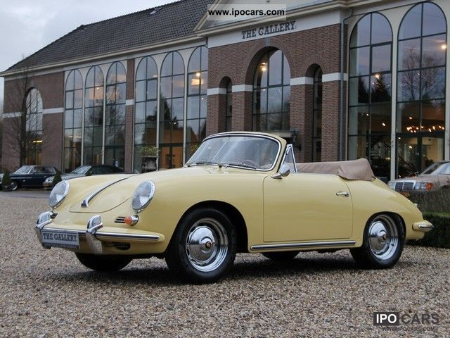 1963 Porsche  356 B Cabio Cabrio / roadster Classic Vehicle photo