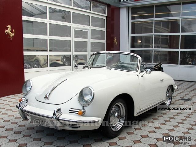 Porsche  356 B Convertible 1963 Vintage, Classic and Old Cars photo