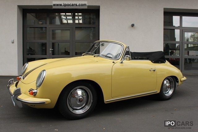 Porsche  BT 356 6 1600 S 1963 Vintage, Classic and Old Cars photo