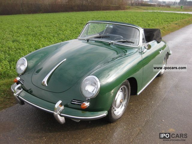 1965 Porsche  356 C Cabrio / roadster Classic Vehicle photo