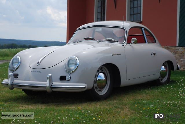 Porsche  356 1500 Pre A Continental 1955 Vintage, Classic and Old Cars photo