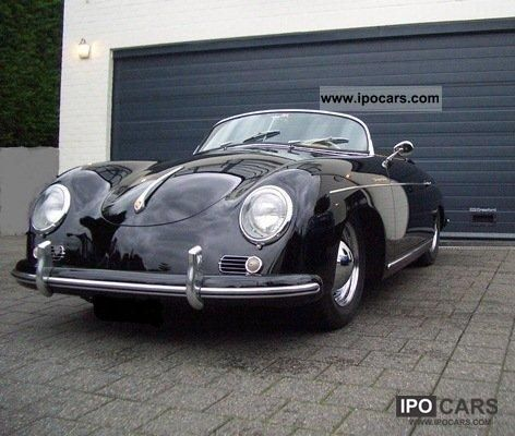 Porsche  A 356 Speedster Pré - TO 1500cc 1955 Vintage, Classic and Old Cars photo