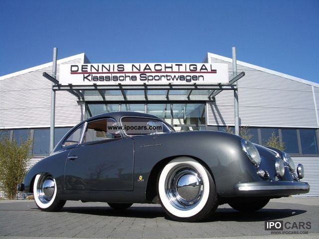 Porsche  356 1500 Continental Super Coupe 1955 Vintage, Classic and Old Cars photo