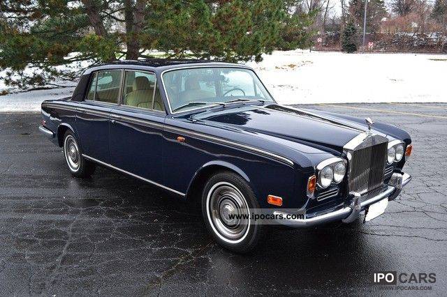 Rolls Royce  Silver Shadow Bentley T1 1973 Vintage, Classic and Old Cars photo