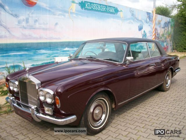 Rolls Royce  Corniche RHD 1970 Vintage, Classic and Old Cars photo
