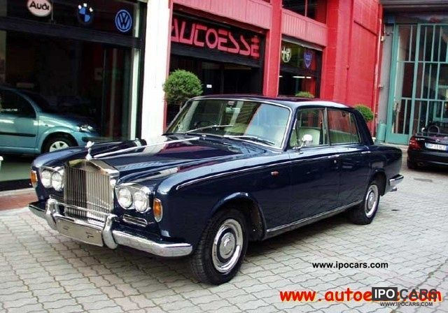 Rolls Royce  Silver Shadow Silver Shadow I ° SERIES 1966 Vintage, Classic and Old Cars photo