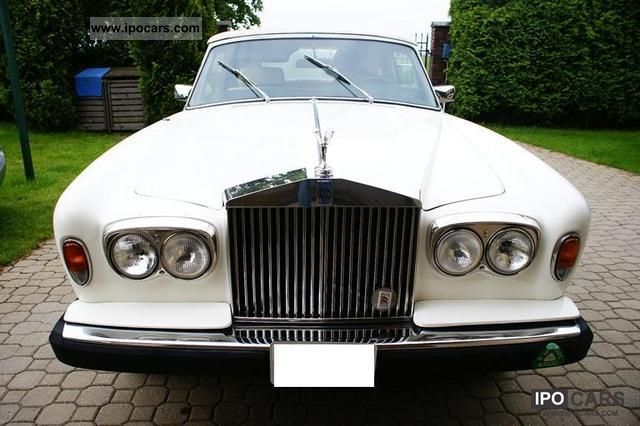 Rolls Royce  Corniche 1977 Vintage, Classic and Old Cars photo