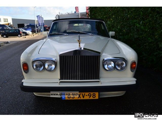 Rolls Royce  Corniche convertible Orgineel Nederlands 1975 Vintage, Classic and Old Cars photo