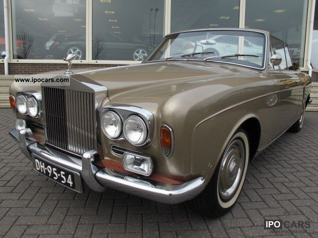 Rolls Royce  Corniche Silver Shadow Convertible 1967 Vintage, Classic and Old Cars photo