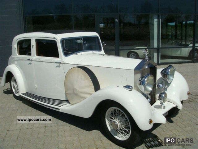 Rolls Royce  25/30 Hooper 4.3 1937 Vintage, Classic and Old Cars photo