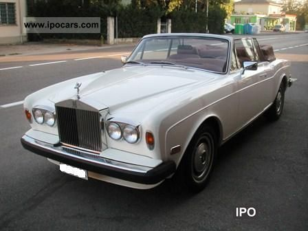 1984 Rolls Royce  Corniche - Convertible CZ Cabrio / roadster Used vehicle photo