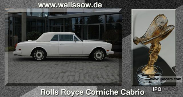 Rolls Royce  Corniche convertible LHD 1979 Vintage, Classic and Old Cars photo