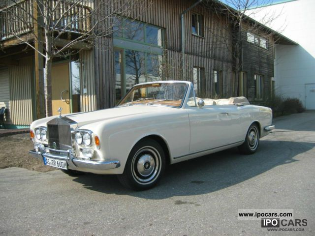 Rolls Royce  Corniche 1971 Vintage, Classic and Old Cars photo