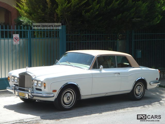 Rolls Royce  Corniche LHD 1972 Vintage, Classic and Old Cars photo