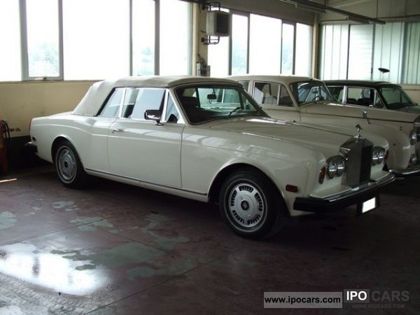 Rolls Royce  Corniche Convertible 1975 Vintage, Classic and Old Cars photo
