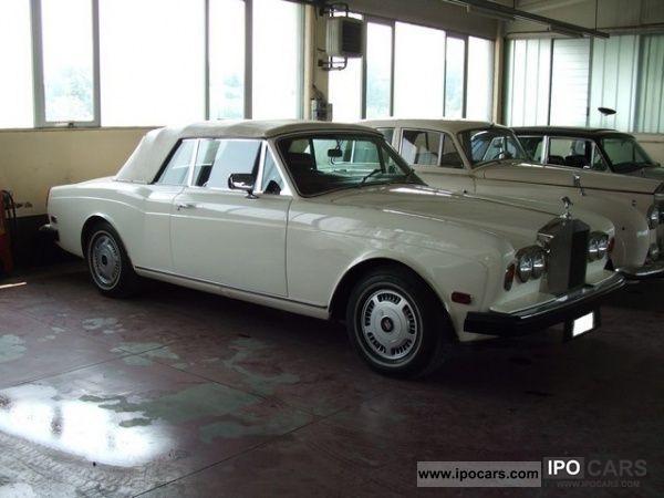 1975 Rolls Royce  Corniche Convertible Cabrio / roadster Used vehicle photo