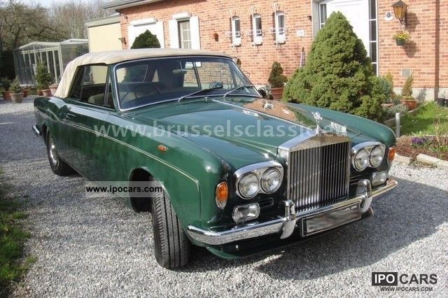 1967 Rolls Royce  Silver Shadow Mulliner Park Ward Cabrio / roadster Classic Vehicle photo