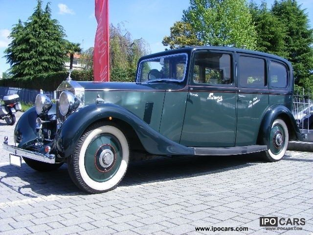 Rolls Royce  Touring 25/30 Hooper & Co Ltd in London 1936 Vintage, Classic and Old Cars photo