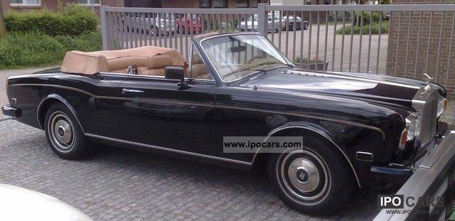1984 Rolls Royce  Corniche Convertible Cabrio / roadster Used vehicle photo