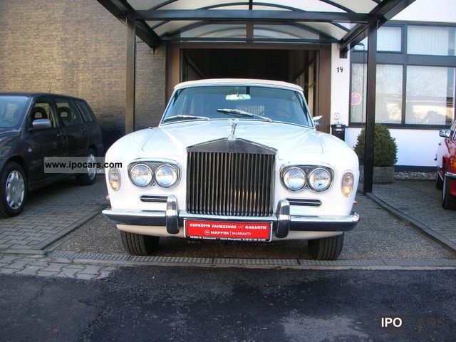 Rolls Royce  Corniche Park Ward Convertible Convertible 1968 Vintage, Classic and Old Cars photo
