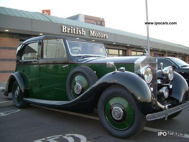 1936 Rolls Royce  25/30 Windover Limousine Used vehicle photo
