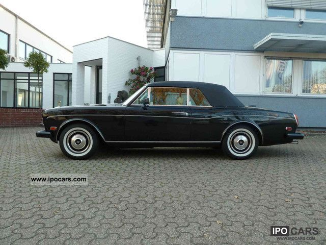 1986 Rolls Royce  Corniche II TOP ... TOP ... TOP ... Cabrio / roadster Used vehicle photo